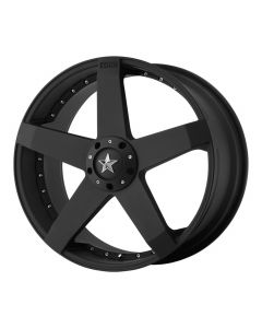 KMC Wheels ROCKSTAR CAR MATTE BLACK
