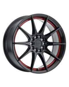 Ruff Racing SPEEDSTER GLOSS BLACK W/RED STRIPE