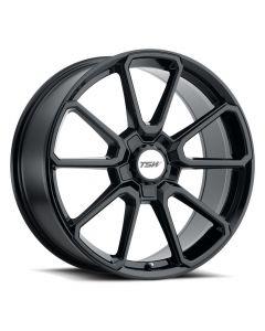 TSW Wheels SONOMA GLOSS BLACK  (BLACK HEX NUT)