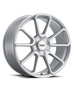 TSW Wheels SONOMA SILVER W/MIRROR CUT FACE (SILVER HEX NUT)