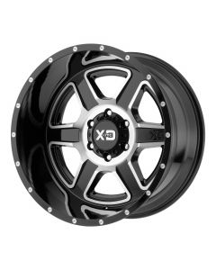 XD Series FUSION GLOSS BLACK MACHINED