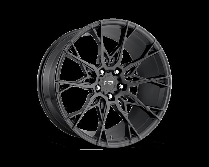 Niche Road Wheels >> Niche Road Wheels M183 Staccato Bd Matte Blk 20x9 5x112 38 66 5
